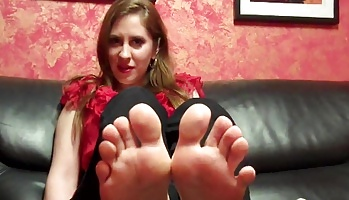 Peel my stinky socks off for me  i have been standing on my feet